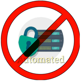 Web server security is not automated